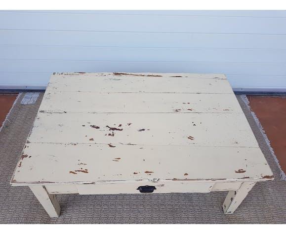 Table basse ancienne vintage début 20ème s