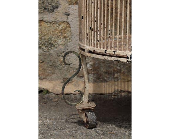 Volière 1900, fer forgé, cage à oiseaux
