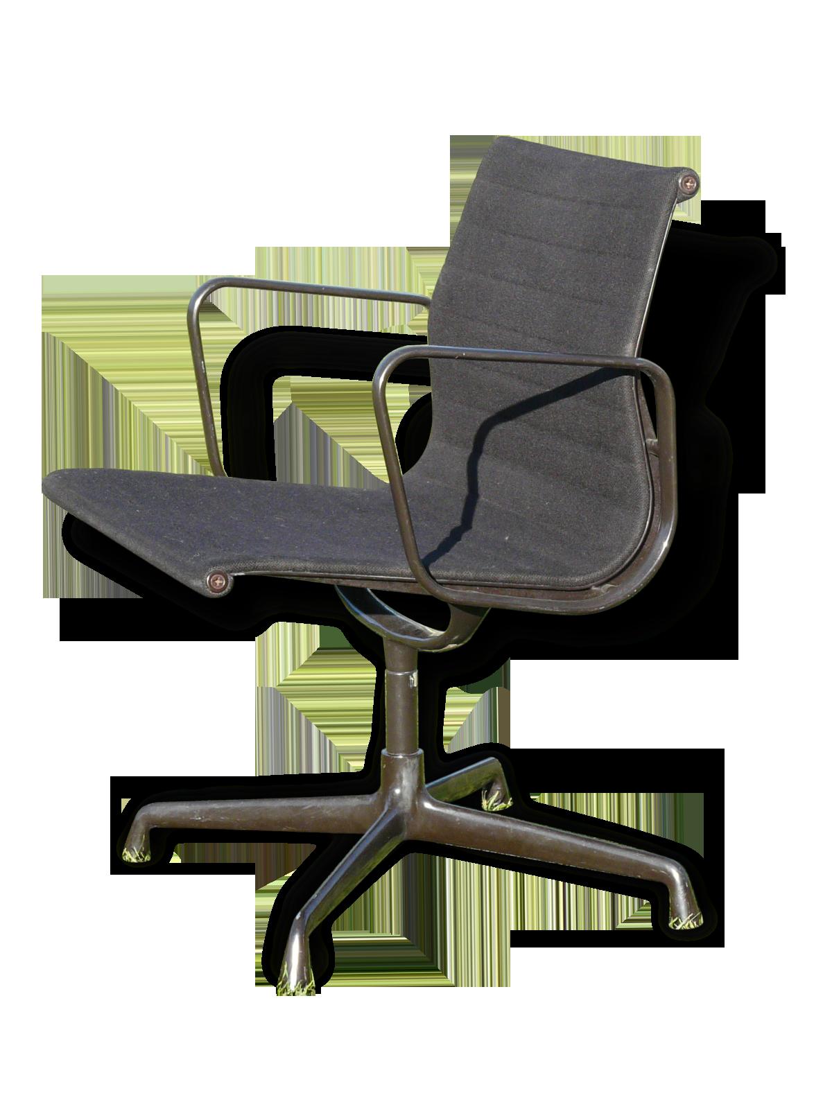 Chaise de bureau confortable en simili cuir de qualité penoti
