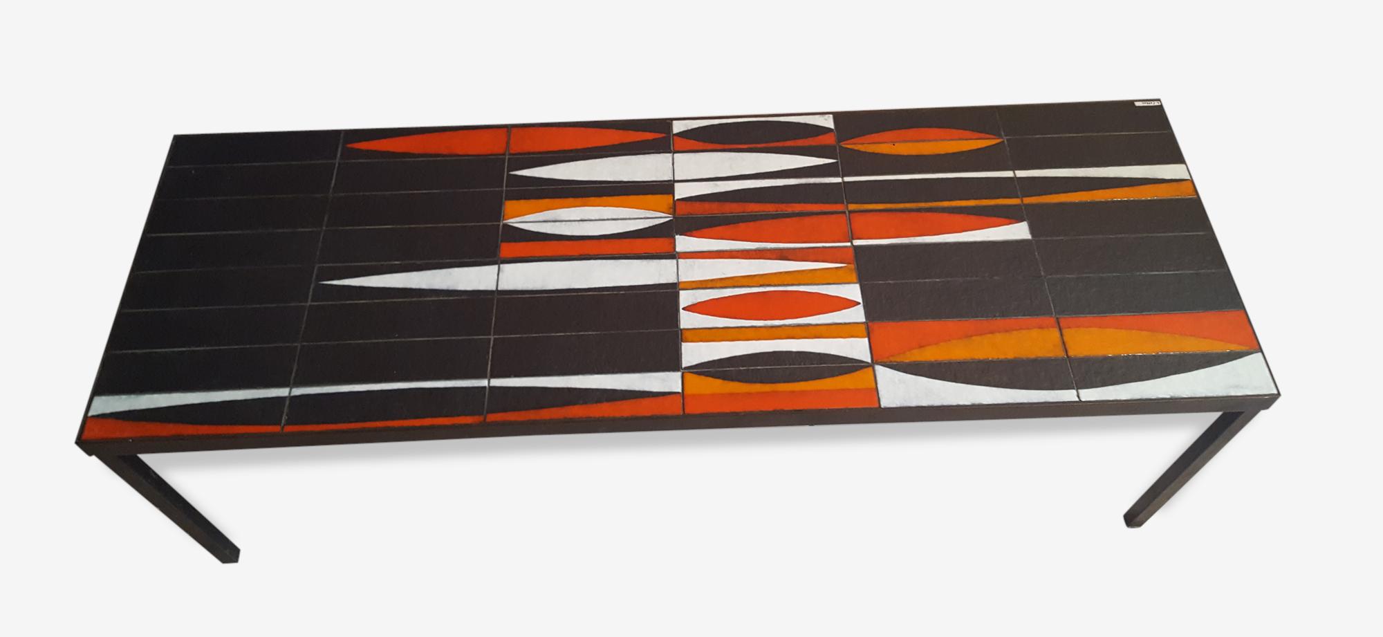 Table basse roger capron modele navette