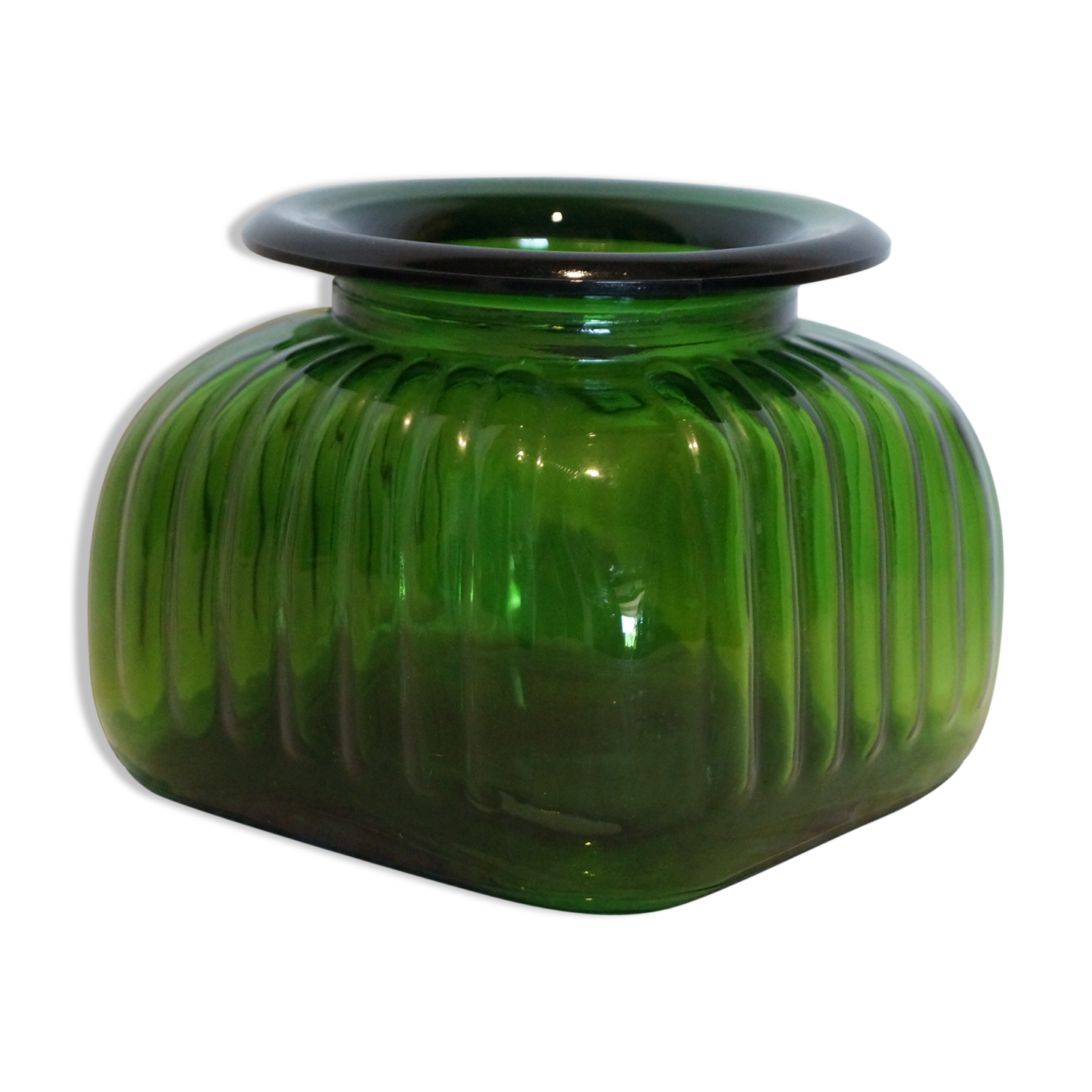 Interesting ribbed vase with vase en plexiglas pas cher - Tabouret de bar plexiglas transparent ...
