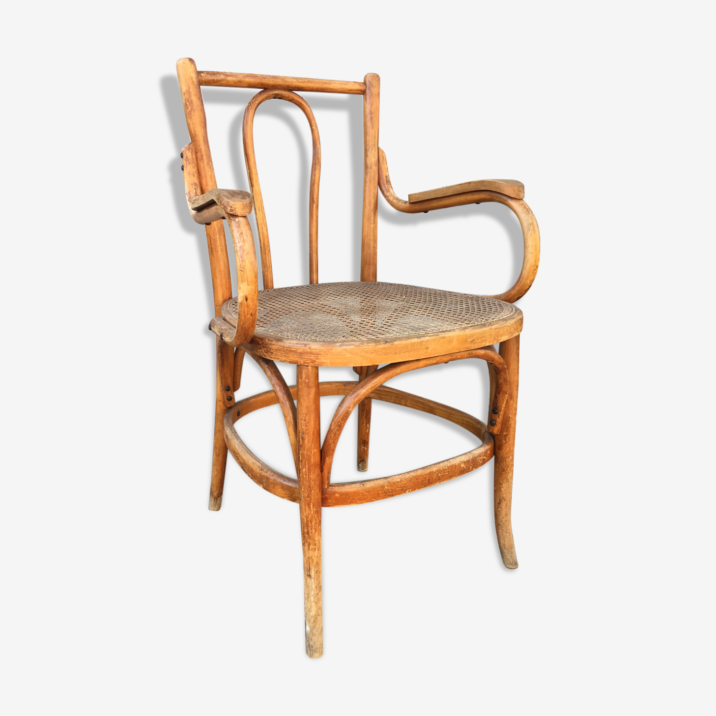 Fauteuil canage Thonet