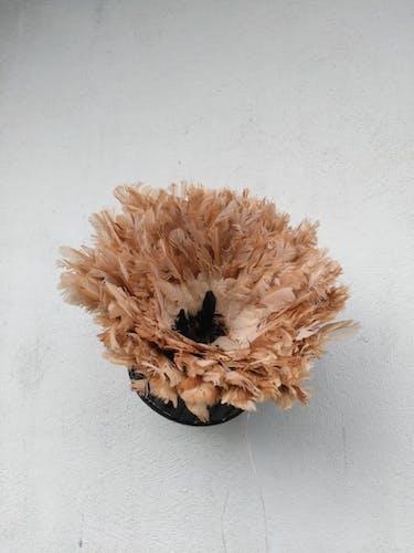 Juju hat inside black white and beige 60 cm contour
