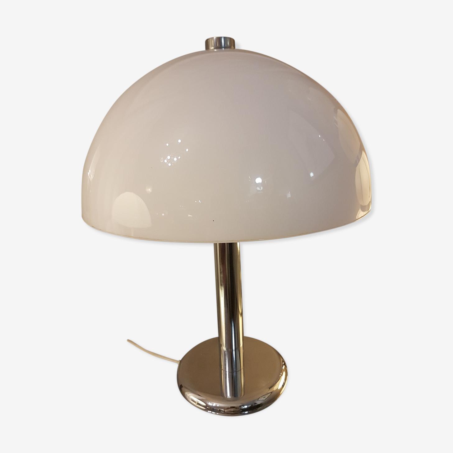Lamp Guzzini 1970 Metal White Design L9oyrv3