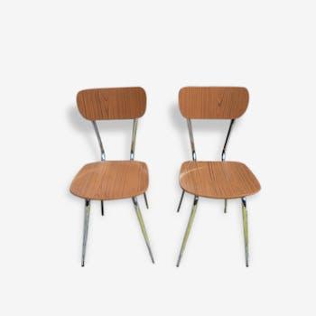 Lot de 6 chaises en formica