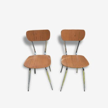 Set of 6 chairs in formica