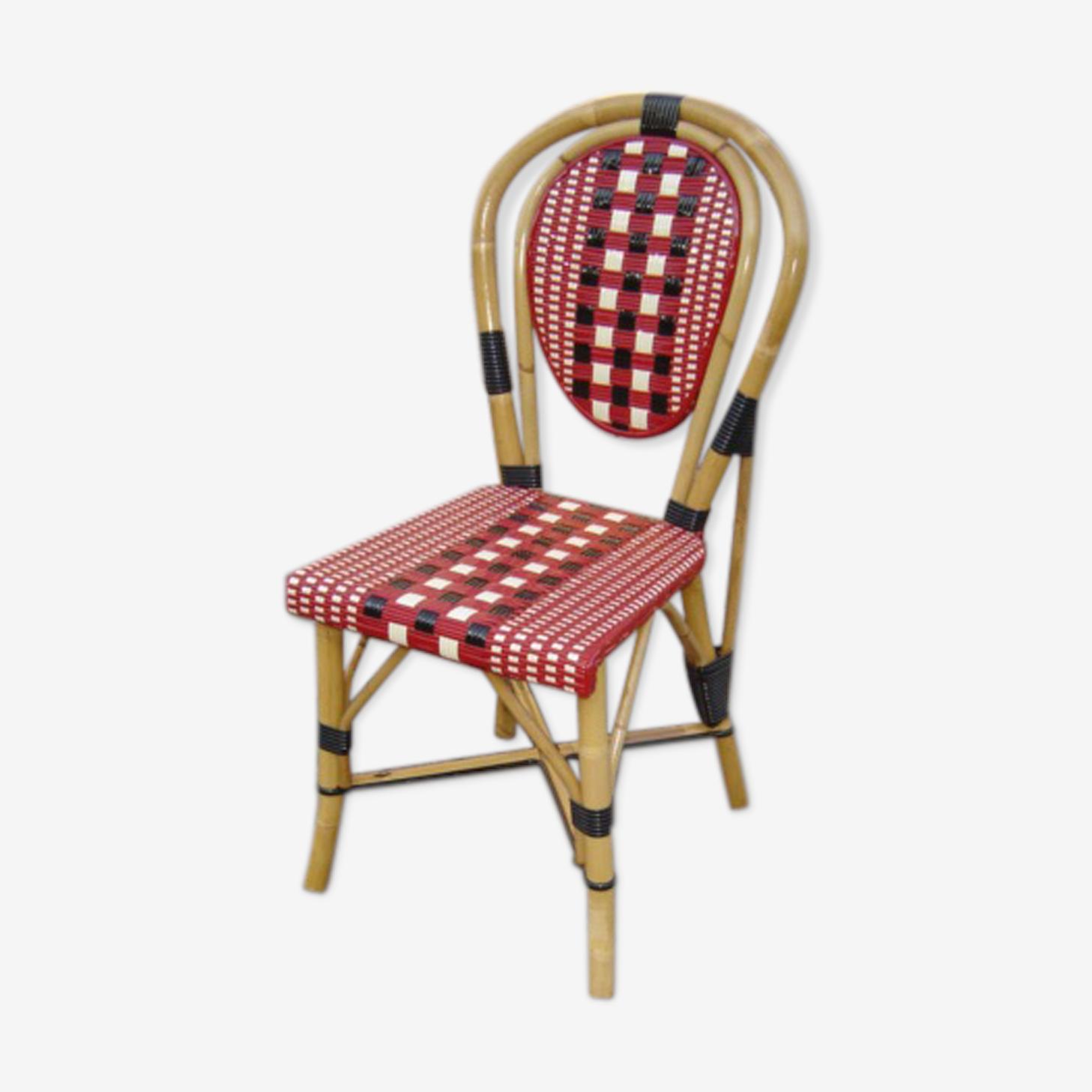 Chaise en rotin modèle Rotterdam