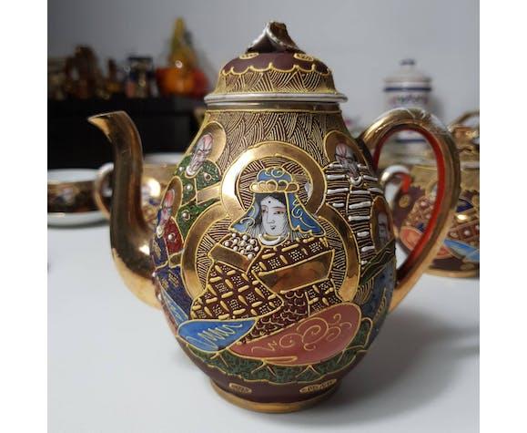 Service à thé Satsuma