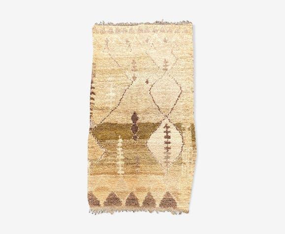 Tapis berbere beni ouarain 105x180 cm