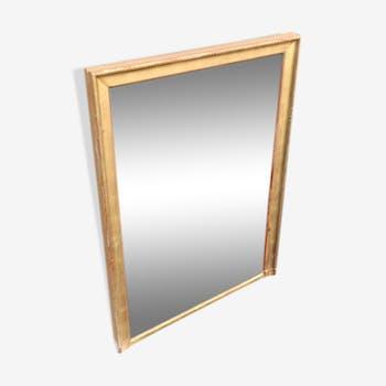 Miroirs vintage et anciens d 39 occasion for Miroir dore rectangulaire