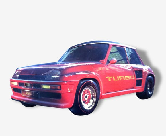 R5 Turbo Originale Thermo Affiche Formée BxQCerdWEo
