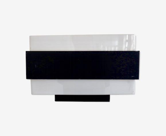Applique murale vintage rectangulaire minimaliste de philips métal