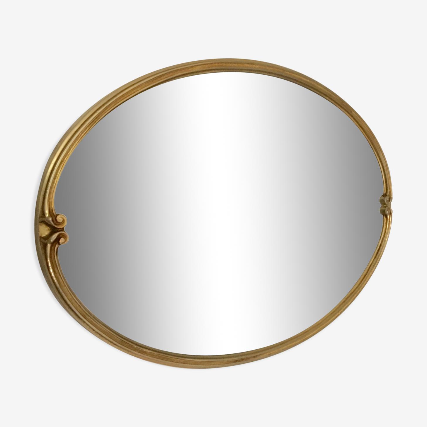 Miroir ovale 41x57cm