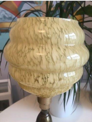 Ancienne lampe en laiton
