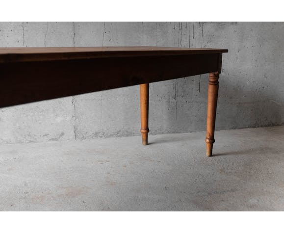Farm table, solid wood - 60s, 1960's