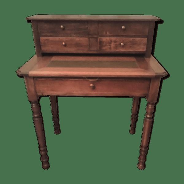 meuble secrétaire ancien - bois (matériau) - marron - art déco - 7spamuq