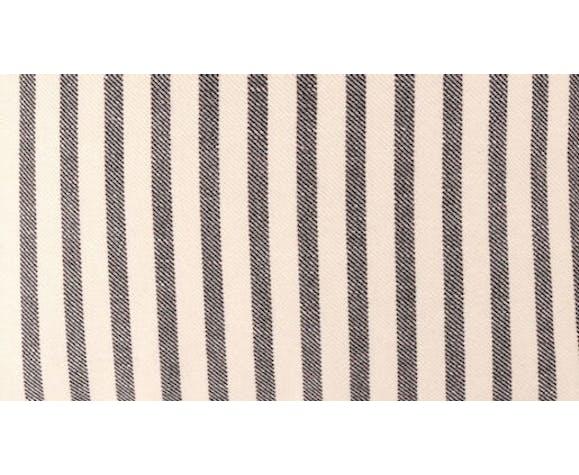 Housse de coussin en coton et lin 45 x 45 cm