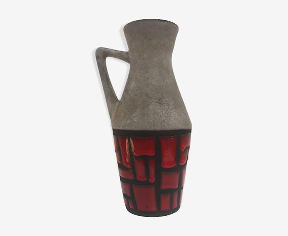 Vase à anse déportée manufacture W. Germany 1960