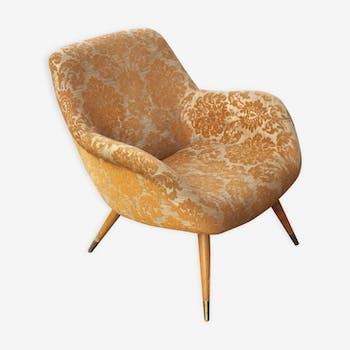 Chair organic Scandinavian vintage 50s 60s