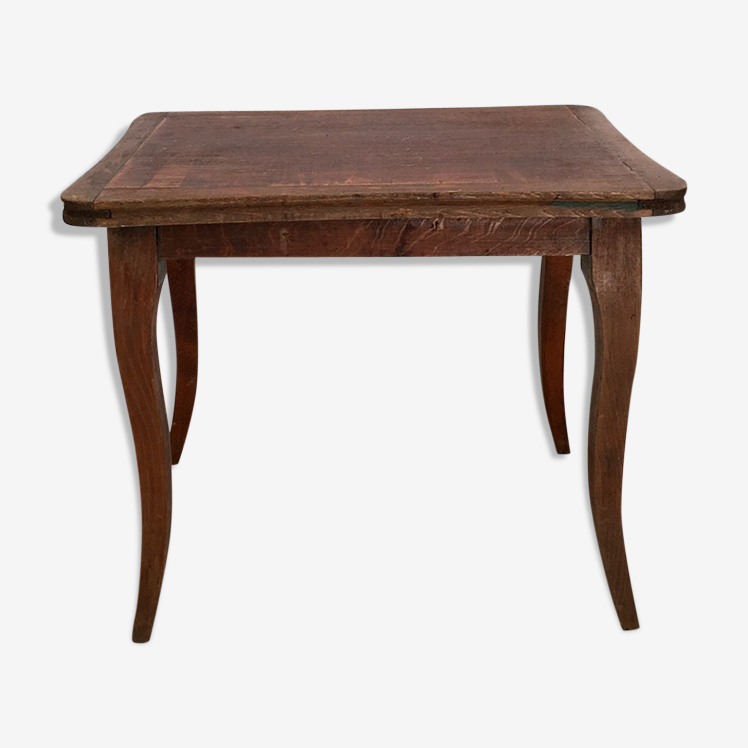 Table en bois vintage 30s