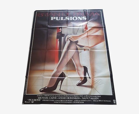 Affiche cinema Pulsions 120x160