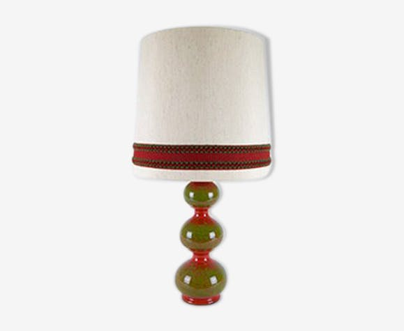 Kaiser decorative ceramic table lamp of the years 1960