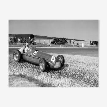 """Photographie """"1951- premier titre pour Fangio"""""""