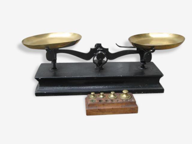 échelle Française sur un base en bois
