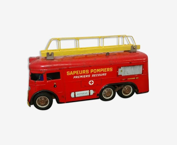 Camion de pompier ancien
