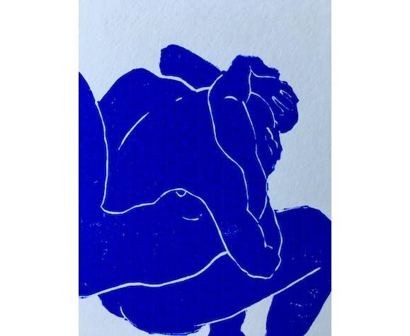 Linogravure Linocut