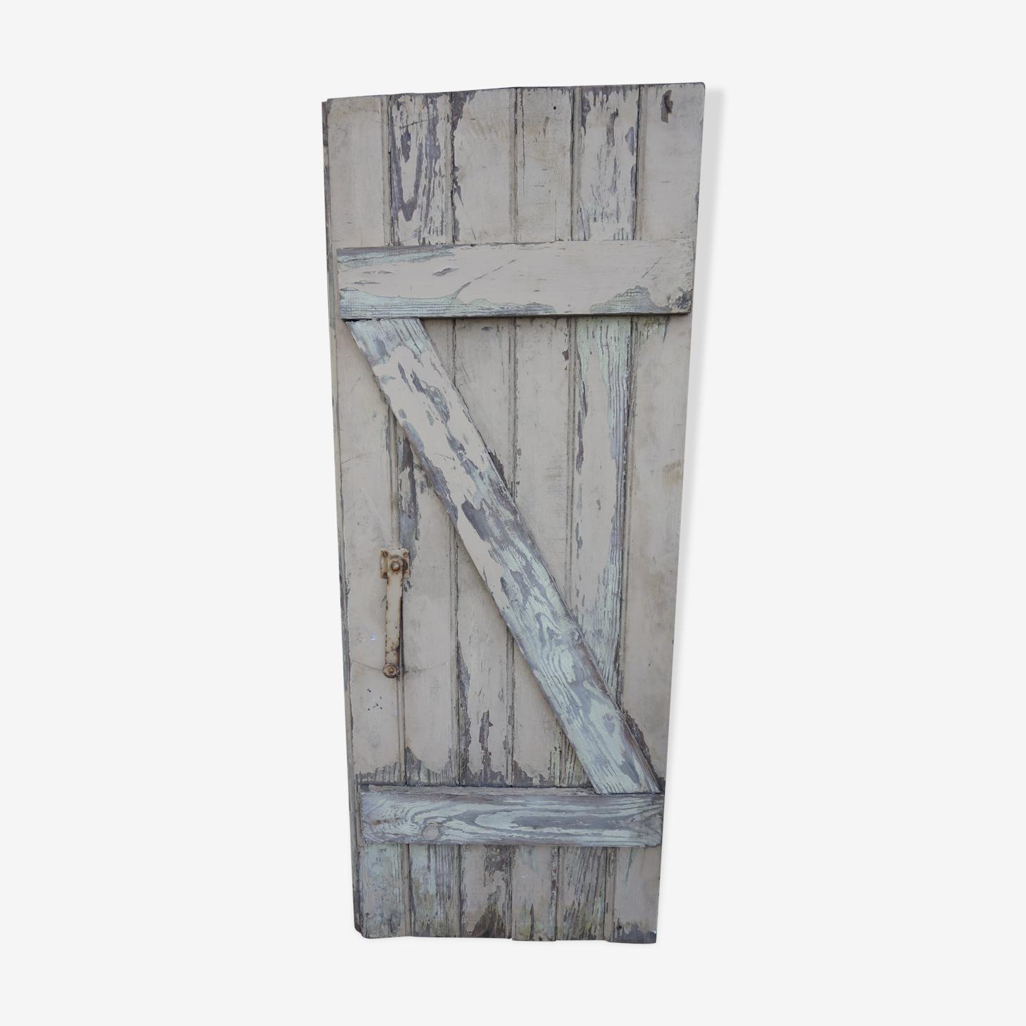 Volet en bois