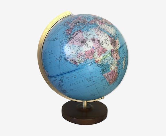 Vintage vintage Earth Globe Columbus