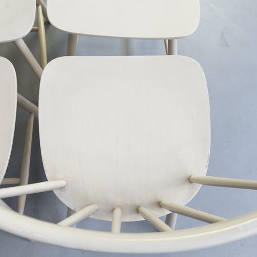 Lot de 6 chaises à manger pour Farstrup Mobler