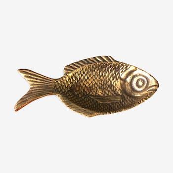 Vide poche ancien en forme de poisson
