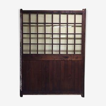 fronton vintage d 39 occasion porte ancienne. Black Bedroom Furniture Sets. Home Design Ideas