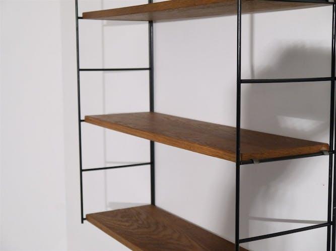 Shelf vintage Scandinavian 1960