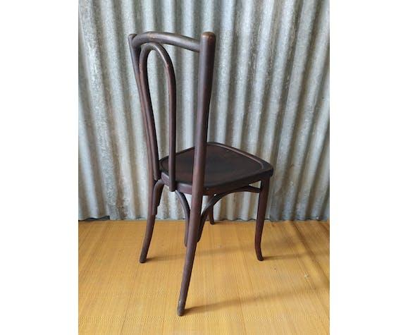 Chaise bistrot bois courbé