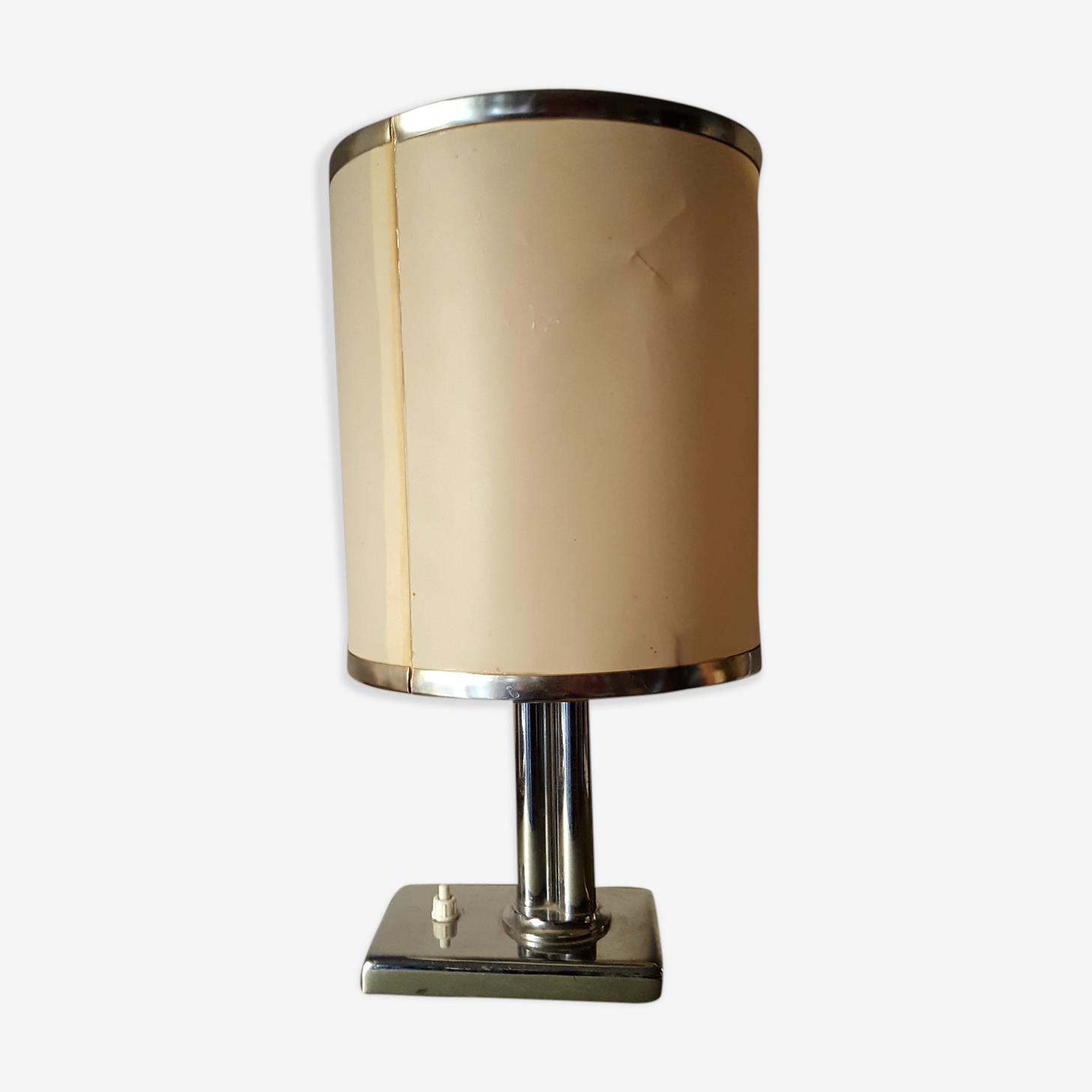 Lampe chrome vintage années 70