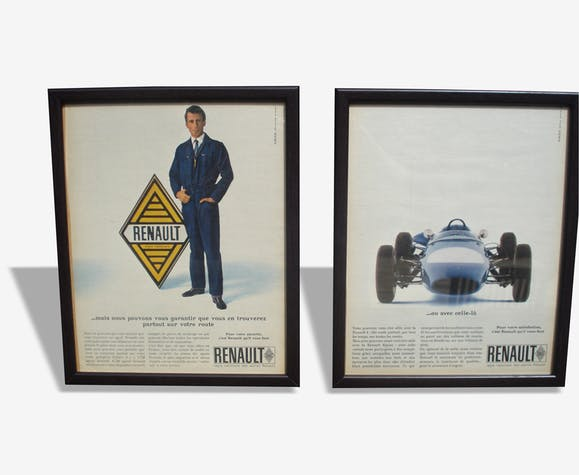Pub Renault et son mécanicien