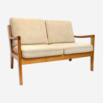 Teak sofa by Ole Wanscher for P. Jeppesen, 1960s