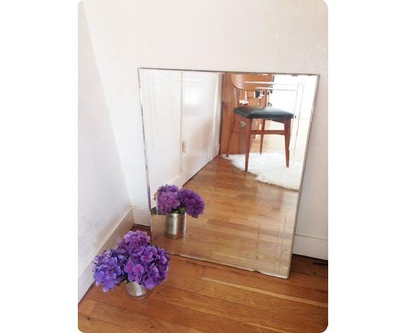 "Miroir sans cadre à poser ""Châteaudun"" 54 x 72 cm"