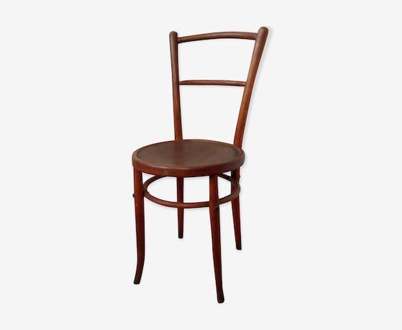 Chaise de bistrot en bois courbé