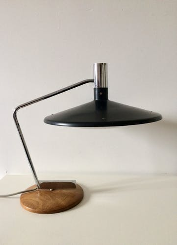 1960's desk lamp with turning base by George Frydman