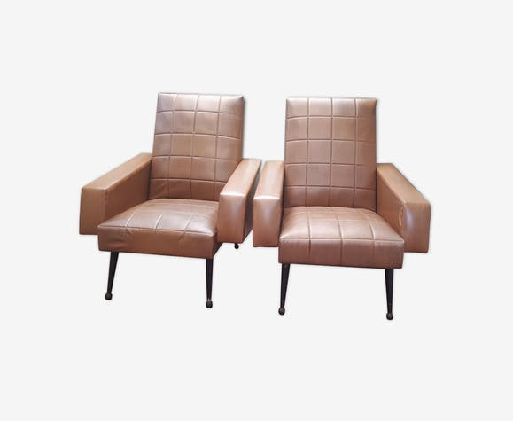 Pair of armchairs 1965/1970