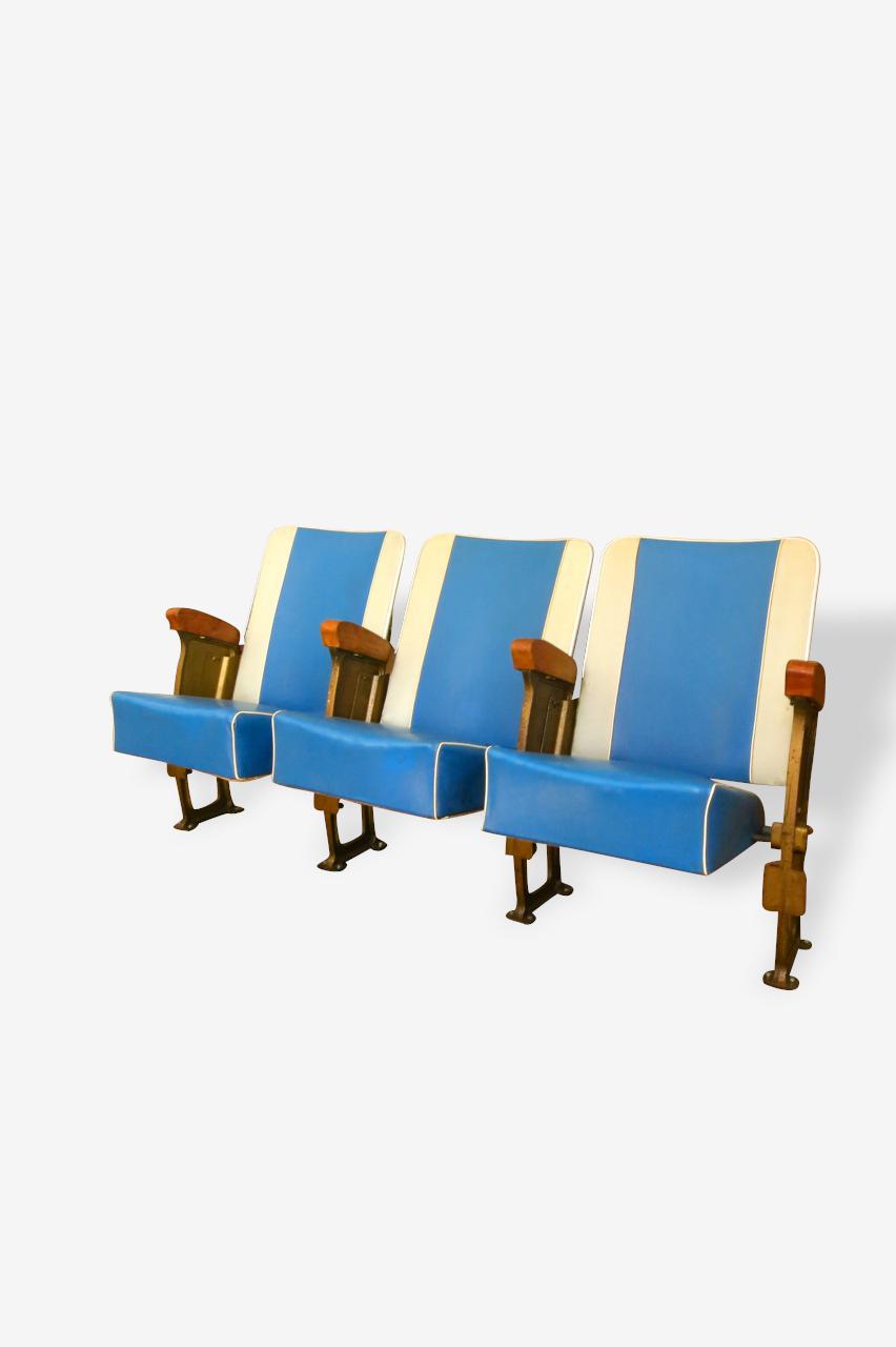 Ancien fauteuils de théâtre