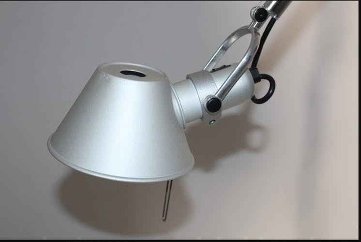 Artemide tolomeo middle model lamppost 1980