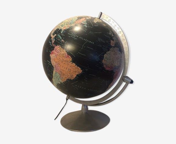 Globe lumineux vintage noir Scanglobe-Danemark