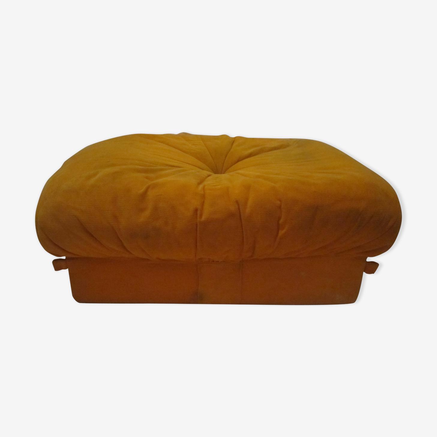 Pouf vintage orange Airborne