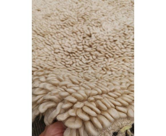 Tapis beni ouarain en laine fait main 310x195 cm