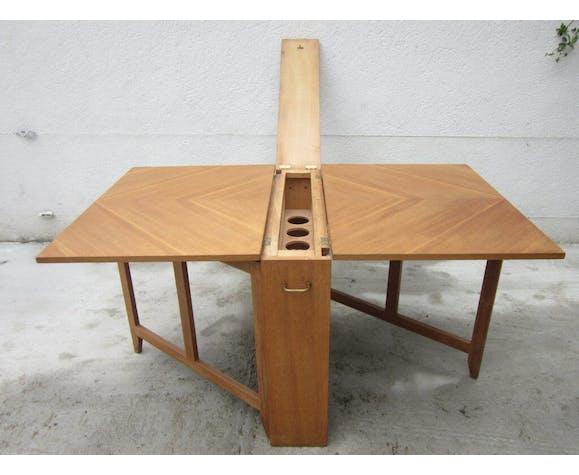 Table Bar Pliante Annees 50 En Chene Selency